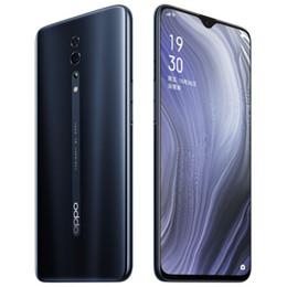 "oppo full phone Canada - Original OPPO Reno Z 4G LTE Cell Phone 8GB RAM 128GB ROM Helio P90 Octa Core Android 6.4"" Full Screen 48.0MP NFC Face ID Smart Mobile Phone"