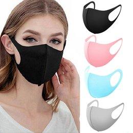 Designer Gesichtsmasken Eis silk dünne Mode Gesichtsmaske Erwachsene Kinder Frühling Sommer staubdichte Netz Berühmtheit atmungs Masken Sonnenschutz im Angebot