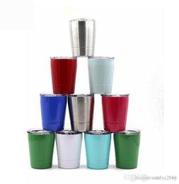 Taza de cerveza del vehículo del viaje de la copa de vino del vaso del acero inoxidable 8.5oz tazas sin vacío en venta