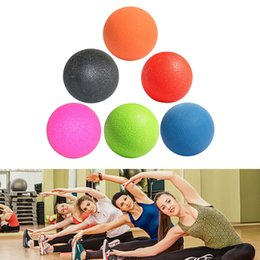 $enCountryForm.capitalKeyWord Australia - SUSAJ New Massage Ball Pain stress relief Trigger Point Therapy for Muscle Knot Fitness Yoga Lacrosse Balls Hockey Ball