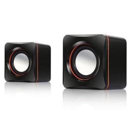 venda por atacado NOVO Mini Portable USB Wired Tablet Computer Speaker Multimedia alto-falantes estéreo de som para Laptops PC telefone 3,5 mm AUX