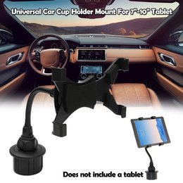 Wholesale Top Brand Car Accessories Universal Car Cup Holder Mount For Tablet For iPad Samsung Hot Sales Car Styling