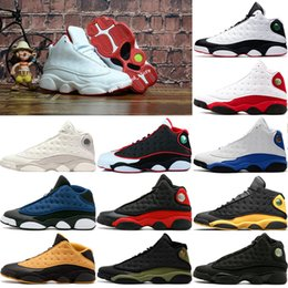 the best attitude 4c3ff bc2bb Mens Basketball Shoes 13 History Of Flight Black Cat DMP Phantom Sports  Shoe men 13s Playoffs He Got Game bred trainer athletic shoes
