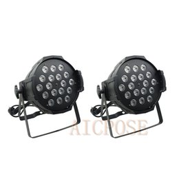 Dmx spotlights online shopping - 2pcs w Lights Power in and out LED Par x12W RGBW in1 LED Par Can Par led spotlight dj projector stage light