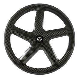 $enCountryForm.capitalKeyWord Australia - Hot Sale carbon wheels 5 spoke wheel clincher 12K glossy carbon wheelset five spoke wheel road bicycle tubular