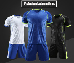 Venta al por mayor de Maillot de alta calidad a medida. Maillots de manga corta para niños y adultos, uniformes de entrenamiento deportivo, de secado rápido, transpirable.