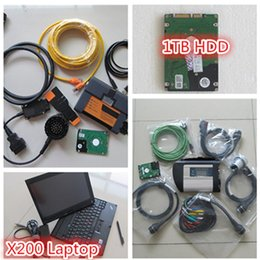 Bmw Engine Diagnostic Australia - 2IN1 diagnostic tool mb star c4 sd connect for bmw icom a2 +2018 software HDD 1tb+ laptop thinkpad x200 ready to use