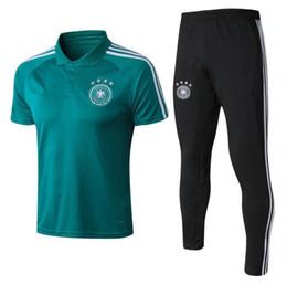 9968c0142 2018 World Cup national team Germany polo shirt 5 HUMMELS KHEDIRA DRAXLER 8  KROOS WERNER 10 OZIL Reus MULLER CUP 18 19 Football uniform