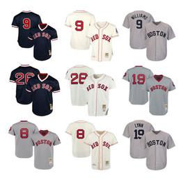 $enCountryForm.capitalKeyWord Australia - Boston Mens & women & youth kids knit Jersey Red Sox 9 Ted Williams 26 Wade Boggs 8 Carl Yastrzemski 19 Fred Lynn Throwback Baseball Jerseys