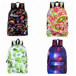 $enCountryForm.capitalKeyWord NZ - 2019 new Korean printing Boy and girl backpack canvas Lady bags traveling backpack Fashion shoulder bag --01