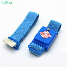 Hand & Power Tool Accessories Able Cordless Wireless Clip Antistatic Anti Static Esd Wristband Wrist Strap Discharge Cables For Electrician Ic Plcc Worke Attractive Designs;
