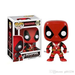 pop figure funko Canada - Bravo Bravo Bravo Funko pop Marvel toys DEADPOOL PVC Action Figure Collection model toys for Children birthday gift