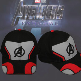 Unisex Suits Australia - 2019 Movie Avengers 4: Endgame Cosplay Hat Cap Superhero Avengers: Infinity War - Part II Embroidery Unisex Baseball Cap
