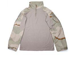 Discount full combat uniform - STINGER GEAR G3 Combat Shirt DCU Desert Camouflage Uniform Ripstop Shirt+Free shipping(STG050998)