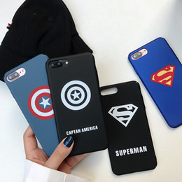 Iphone Cases 3d Man Australia - 3D Super Hero Matte Case for IPhone X XS MAX XR 8 7 6 6S PLUS 7plus 8plus I Phone 7plus Cartoon Case Luxury Hard Phone Shell Cover for Men