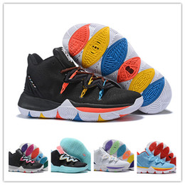 d7d62770e280 2019 designer Irving Limited 5 Men Basketball Shoes 5s Black Magic for Kyrie  Chaussures de basket ball Mens Trainers sports Sneakers
