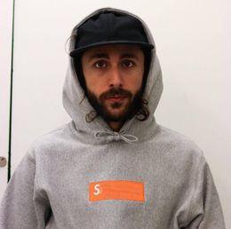 $enCountryForm.capitalKeyWord Australia - Designer hoodie fashion brand hip hop sweater classic box logo loose sweater men and women couple jacket embroidery hooded sweater