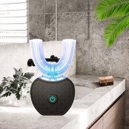 $enCountryForm.capitalKeyWord Australia - Smart Kits U 360 Sonic Automatic Toothbrush Ultrasonic Electric Toothbrush 2pcs Heads 60ml Liquid Toothpaste Adults Tooth Whiten J190628