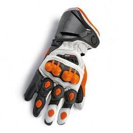 $enCountryForm.capitalKeyWord Australia - 2019 New Orange 100% Genuine Leather GP PRO Motorcycle Long Gloves Racing Driving GP PRO Motorbike Original Cowhide Gloves