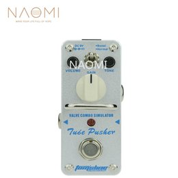 Wholesale drive guitars for sale – custom NAOMI Aroma Guitar Effect Pedal ATP Classic Tube Overdrive Pedal Guitar Effect Tube Driven Amp Simulator