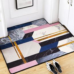 $enCountryForm.capitalKeyWord Australia - Nordic INS abstract geometric large carpet home bedroom bedside entrance elevator floor mat sofa coffee table anti slip carpet