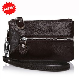 $enCountryForm.capitalKeyWord UK - Women Genuine Leather key bag keys holder 2019 multifunctional wristlet clutch coin bags wallet Cow + PU leather Purse,YB-DM158 #235966