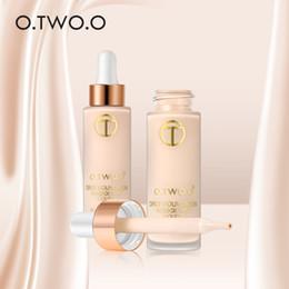 $enCountryForm.capitalKeyWord Australia - O.TWO.O Full Cover Matt Liquid Foundation Makeup Face Base Long Lasting Concealer Primer BB Cream Make Up Cosmetics 15ml