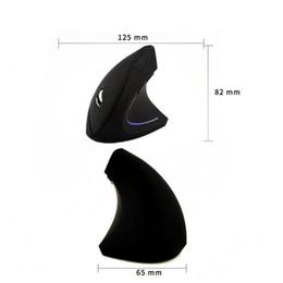$enCountryForm.capitalKeyWord Australia - 2.4GHz wireless ergonomic vertical mouse 7 color backlight health gift mouse 1600DPI design for i7 i5 notebook PC msi computer