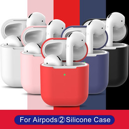precision gold Australia - Hot Sales 14 Colors Waterproof Silicone Precision Holes Case Dust Plug Design Full Protection Anti-Fall Case for Airpods Case