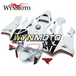 Motorcycle Fairing Kits Abs Plastic Australia - White Motorcycle Fairings For Honda CBR600RR 2003 2004 F5 03 04 ABS Plastic Injection motorbike Kits cowlings covers