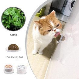 $enCountryForm.capitalKeyWord Australia - Cats Natural Mint Edible Ball Kitten Interactive Biting Catnip Playing Toys For Cat Kitten Snack Healthy Care Mint Ball