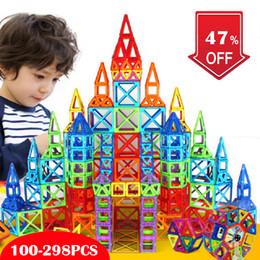 Game maGnets online shopping - Mini Magnetic Designer Blocks Construction Building Toy Magnetic Blocks Plastic Magnet Game Educational Toys for Children Gift SH190913