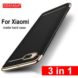 pc cases NZ - luxury PC hard Bumper Case For Xiaomi Mi Note 3 Note3 Cover protective Shell armor coque funda 3in1 house