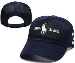 Polo Ball Australia - 2019 Summer New brand mens designer hats adjustable baseball caps Classic lady fashion polo hat bone trucker casquette women gorras ball cap