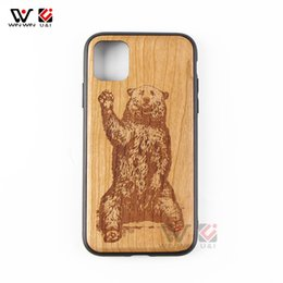 Custom pC Cases online shopping - 2019 New Custom Design Natural Real Wood PC Wooden Hard PC Case Cover Case For iPhone Pro Max