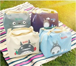 $enCountryForm.capitalKeyWord Canada - Oxford Canvas Totoro Cute Lunch BAG NEW Handbag Lunch TOTE Pouch BOX