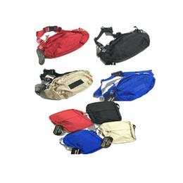 Diseñador bolso de cintura negro rojo 18SS 3M 44a Moda Unisex Fanny Pack Moda Cintura Hombres Lienzo Hip-Hop Cinturón Bolso Hombres Bolso 3M
