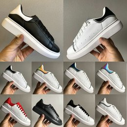 China Luxury Platform Lace Up Designer Shoes Party Dress Girls Ladys Women Shoes White black Velvet Reflective Leather Mens Casual Sneakers 36-44 cheap red velvet girl dresses suppliers