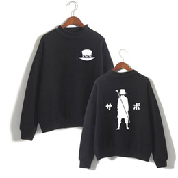 monkey sweatshirts hoodies UK - Movie ONE PIECE STAMPEDE Hoodie Men Monkey D Luffy Fan Supportive Turtleneck Sweatshirt Casaul Tracksuit Poleron Hombre