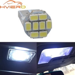 Discount foot boards - T10 White Led Car 1206 3020 Smd Car Led Indicator Lights Wide Reading License Plate Light Board trunk lights foot Lamp D