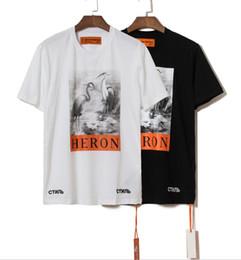 $enCountryForm.capitalKeyWord Australia - New York Fashion tshirts High Quality Chinese Style shirt Heron Preston Men Women Street Luxury Cotton Hoody Casual Sleeved T-Shirt free sh