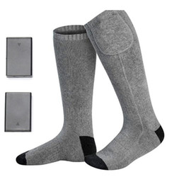 Electric Size UK - Nicely Electric Heated Socks with Rechargeable Battery for Chronically Cold Feet Large Size USB Charging Heating Socks