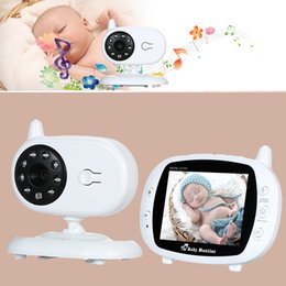 wireless cameras Australia - onitor security cameras 3.5 in LCD Wireless Video Baby Sleeping Monitors with Camera Digital Infrared Temperature Monitoring baba eletron...
