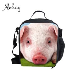 Keep Box NZ - Aelicy 3D Animal Print Backpack For Lunch Office Worker Student School Keep Warm Lunch Box Outdoor Hiking Backpacks