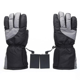 ElEctric warming glovEs online shopping - USB Heated Gloves Electric Winter Warm Finger Gloves Thick Hand Warmer for Outdoor Skiing Cycling Riding Hunting Fishing