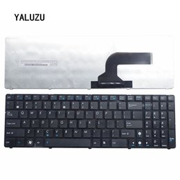 Discount x61 laptop New US Keyboard for ASUS K52 X61 N61 G60 G51 k53s MP-09Q33SU-528 V111462AS1 0KN0-E02 RU02 04GNV32KRU00-2 V111462AS1 Lapt