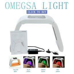 $enCountryForm.capitalKeyWord Australia - LM004 MOQ 1PC 4 Light LED Facial Mask PDT Light For Skin Therapy Beauty Machine For Face Skin Rejuvenation Salon Beauty Equipment