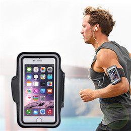 hot cell phone cases 2019 - Stylish Sports Exercise Running Gym Armband Pouch Holder Case Bag Adjustable Strip for 4.7inch Cell Phone Hot Sale cheap