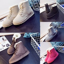 Wholesale NEW Snow Winter Leather Women Australia Classic kneel half Boots WGG Ankle boots Black Grey brown beige red Womens girl shoes running shoes