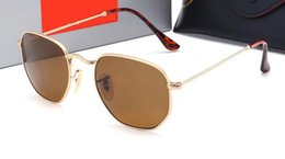 Mens colorful sunglasses online shopping - brand Mens New Glass Sunglasses Colorful Sunglasses Driving Glasses luxury man designer sunglasses With Case and box